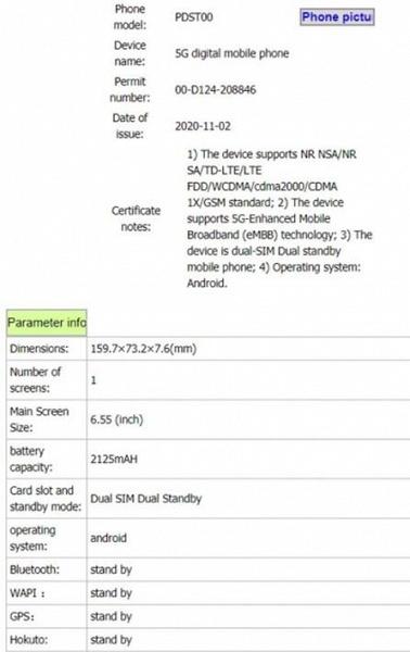 4250 мА·ч, 64 Мп, 65 Вт. Oppo Reno5 Pro 5G в шаге от анонса