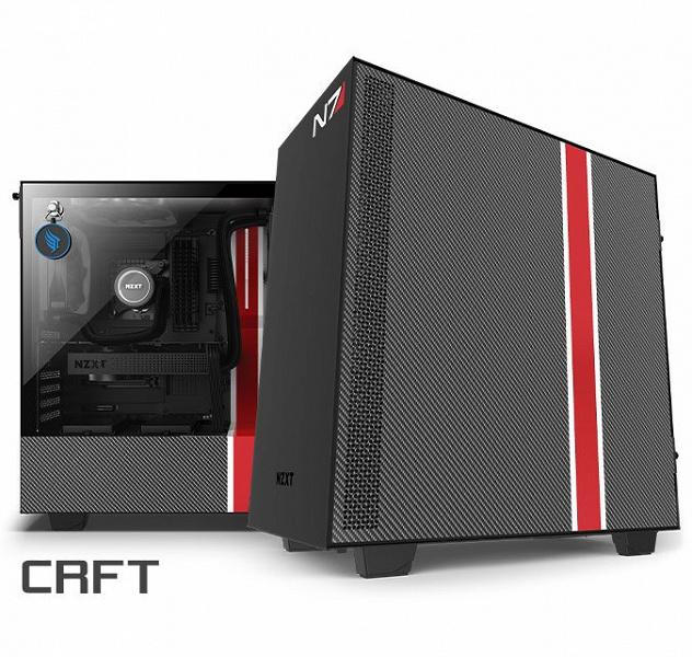 NZXT CRFT 07 H510i Mass Effect — седьмой корпус линейки CRFT
