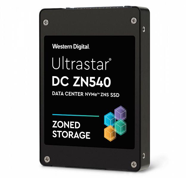 Представлен твердотельный накопитель Ultrastar DC ZN540