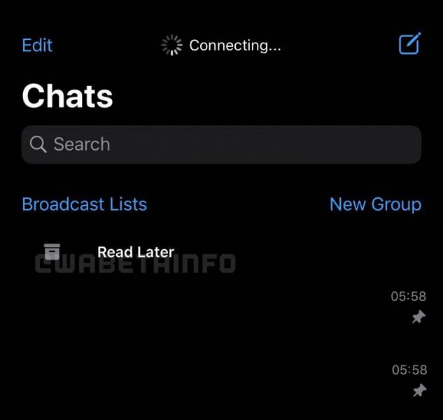 Ещё одно серьёзное изменение в WhatsApp. В мессенджере появилась функция «Прочитать позднее»