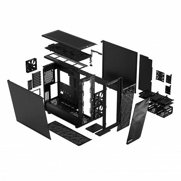 В корпусе Fractal Meshify 2 XL помещаются платы размером до SSI-EEB
