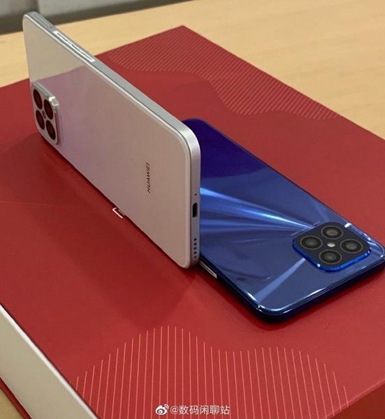 Huawei уже копирует iPhone 12. Huawei nova 8 SE получил очень похожий дизайн