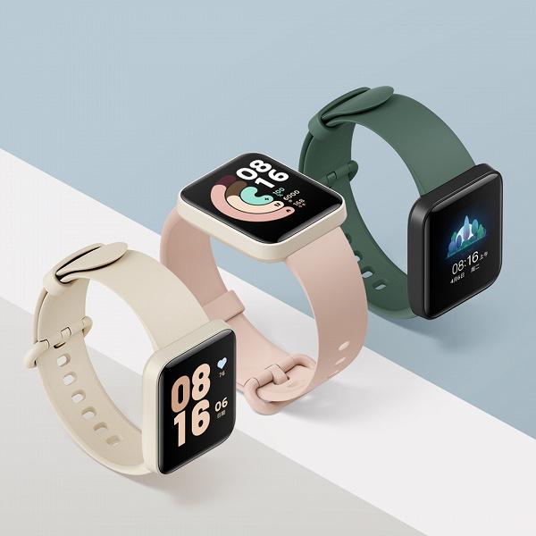 Представлены умные часы Redmi Watch с NFC, компактные и дешёвые