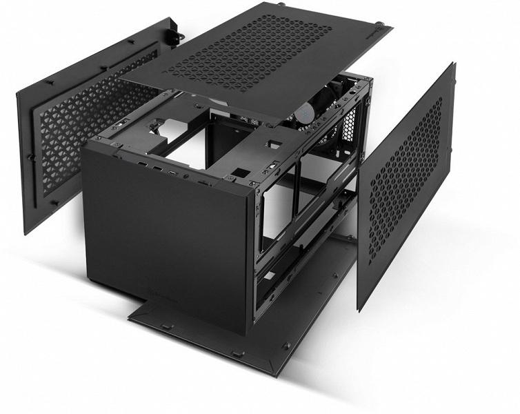 Корпус SilverStone Sugo 15 рассчитан на платы типоразмера mini-DTX и mini-ITX