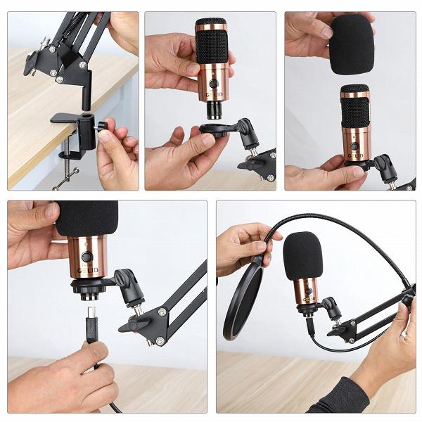 Микрофон Gelid Voce с интерфейсом USB оценен в 46 евро