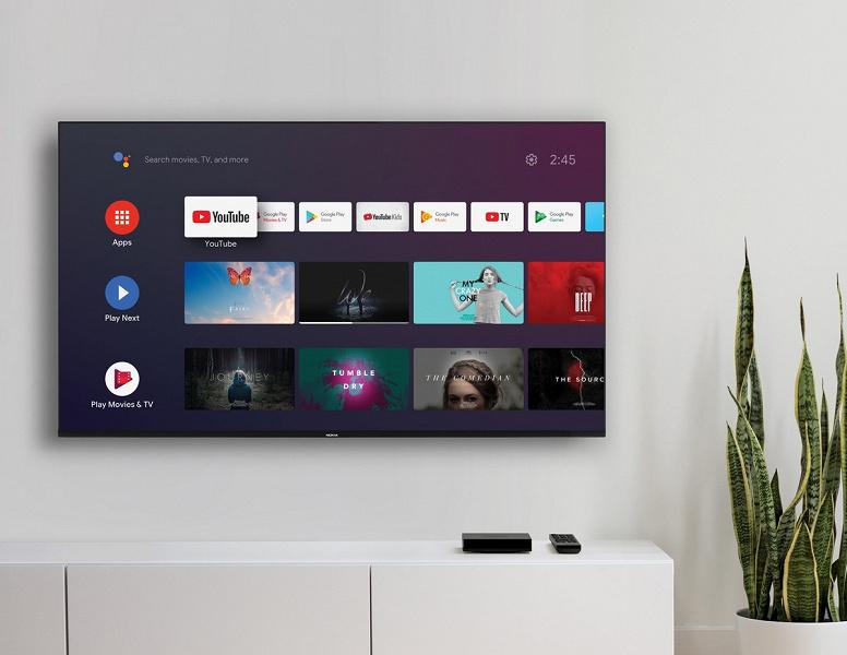 AndroidTV 10, множество портов, культовый бренд и цена в 100 евро. Представлена телевизионная приставка NokiaStreamingBox8000
