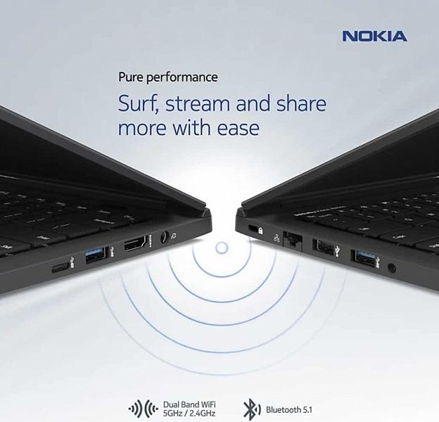 Алюминиево-магниевая новинка Nokia стоит не 1220, а всего 815 долларов. Ноутбук NokiaPureBookX14 представлен полноценно