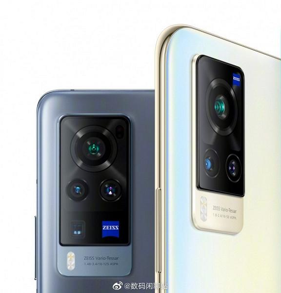 Оптика Zeiss, 5-кратный зум и диафрагма F/1,48. Камера Vivo X60 Pro рассекречена