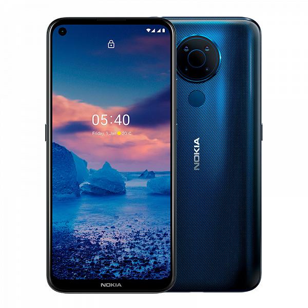 С замахом на Android 11 и Android 12. Стартовали продажи Nokia 5.4 в России