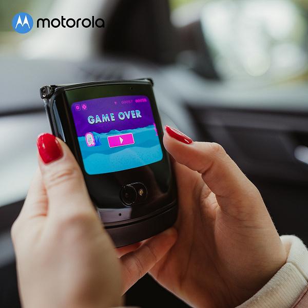 Триумфальное возвращение культовой раскладушки. Стартовали продажи Motorola RAZR 5G с гибким экраном в России