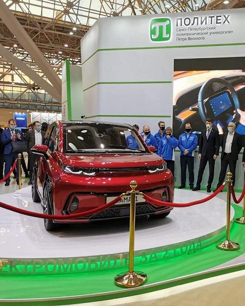 КАМАЗ показал предсерийный образец своего электрического кроссовера за 750 тысяч рублей