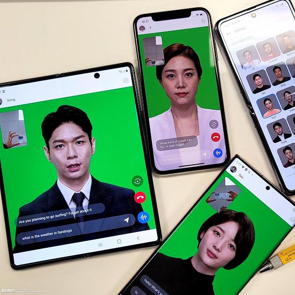 Флагманы iPhone и Samsung с «искусственным человеком» Neon. Опубликованы качественные фото