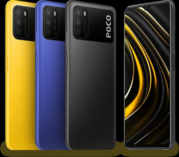Xiaomi представила необычный бюджетный смартфон-долгожитель Poco M3 в России, по сниженной цене для самых шустрых