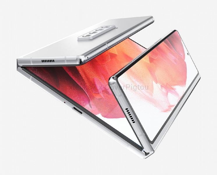 Эта модель придет на смену Galaxy Note. Samsung Galaxy Z Fold 3 позирует на неофициальных рендерах