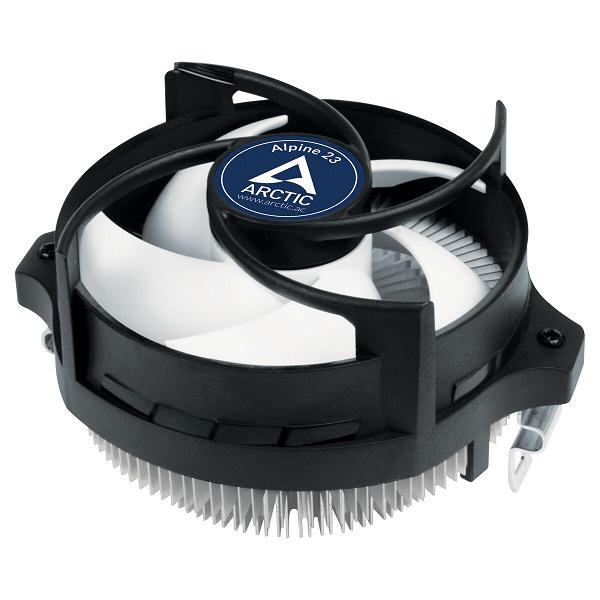 Система охлаждения Arctic Alpine 23 с радиальным радиатором предназначена для процессоров AMD в исполнении AM4