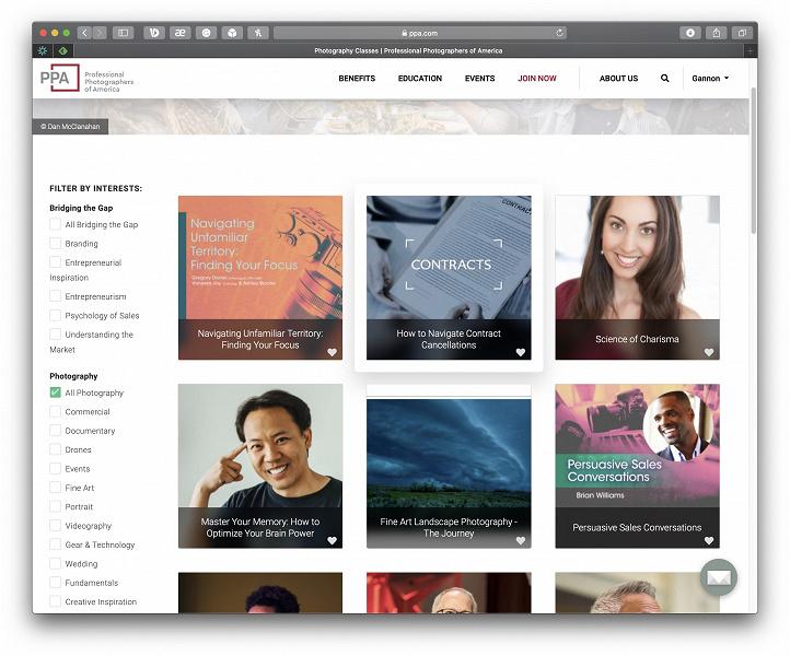 PPA предлагает бесплатно более 1100 занятий по фотографии