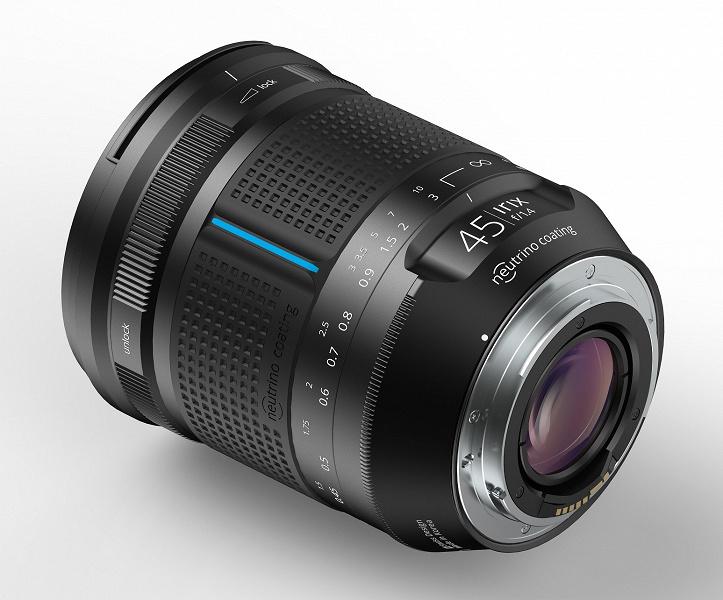 Представлен полнокадровый объектив с ручной фокусировкой Irix 45mm f/1.4
