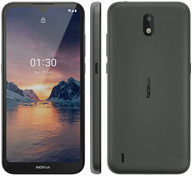 Самый доступный смартфон Nokia показан во всех деталях