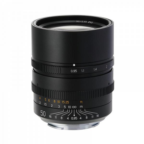 Объектив TTArtisan 50mm f/0,95 для беззеркальных камер будет выпущен очень небольшой партией