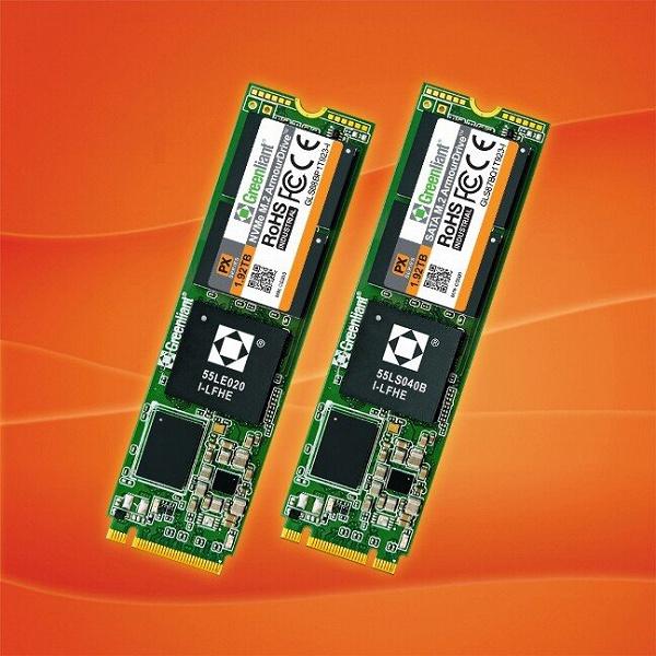 Твердотельные накопители Greenliant ArmourDrive PX типоразмера M.2 рассчитаны на работу в расширенном диапазоне температур