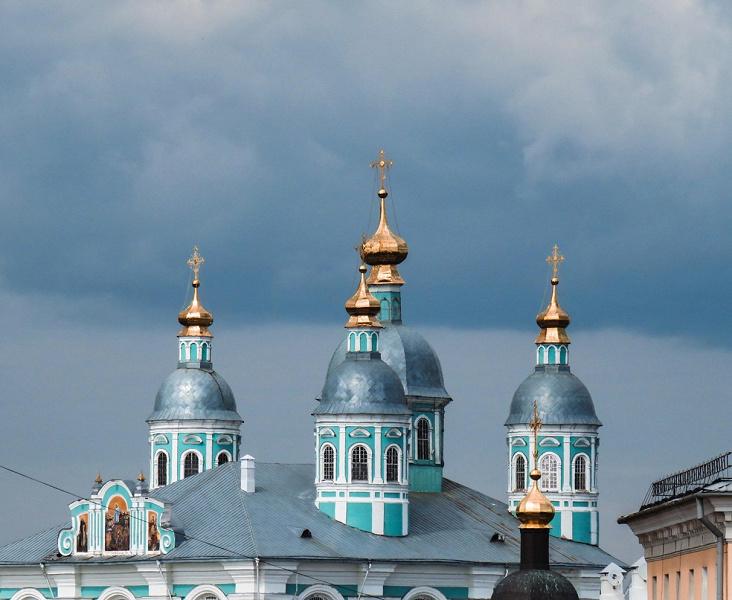 Смоленск относится к Центральному федеральному округу России
