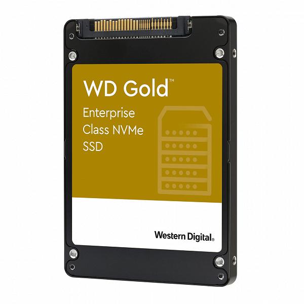 Твердотельные накопители WD Gold NVMe предназначены для центров обработки данных