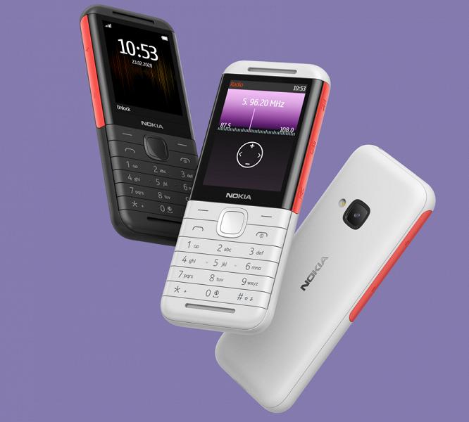 В России стартовали продажи возрождённой легенды — музыкального телефона Nokia 5310. Дешевле, чем в Китае