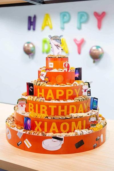 Xiaomi празднует 10-летие