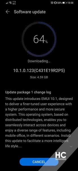 Европейские Huawei P30 и P30 Pro, наконец, получили большое обновление EMUI 10.1