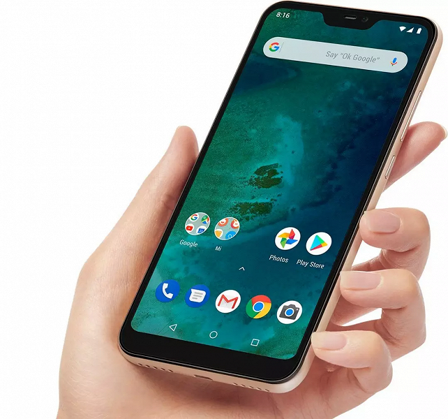 Xiaomi Mi A2 Lite наконец получил новую MIUI с финальной версией Android 10