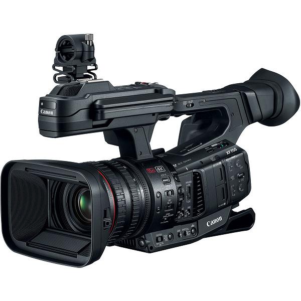 Обновление прошивки видеокамеры Canon XF705 расширяет возможности записи в XF-AVC и MP4