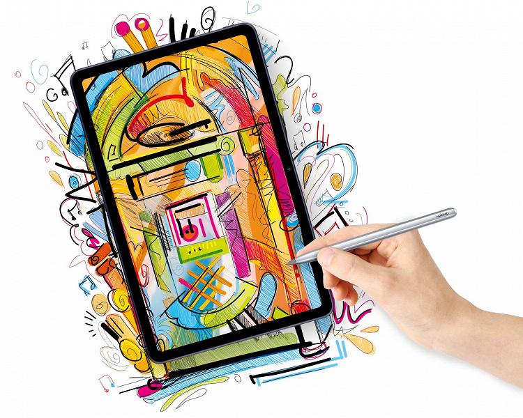 В России стартуют продажи недорогого планшета Huawei MatePad с «флагманским» дизайном и без сервисов Google