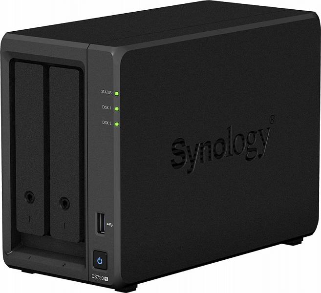 Представлены сетевые хранилища Synology DS220+, DS420+, DS720+ и DS920+