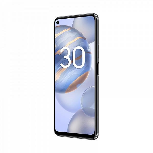 Honor объявляет о старте продаж смартфона Honor 30S с 5G-процессором Kirin 820 флагманского уровня