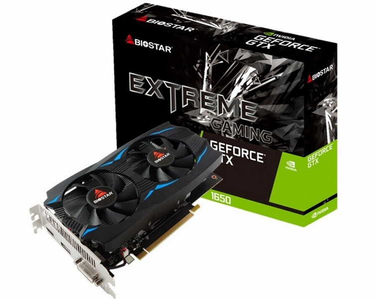 Biostar расширяет линейку видеокарт Extreme Gaming двумя моделями серии GeForce GTX 16
