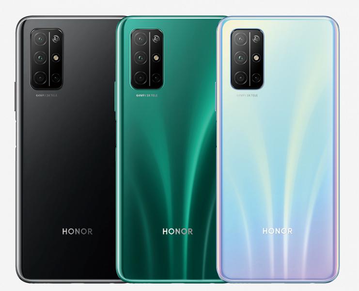 Стартовали продажи смартфон Honor 30S в России. Он отличается от китайской версии