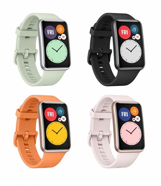 Huawei Watch Fit — продвинутый фитнес-браслет с изогнутым экраном и нетипичным дизайном