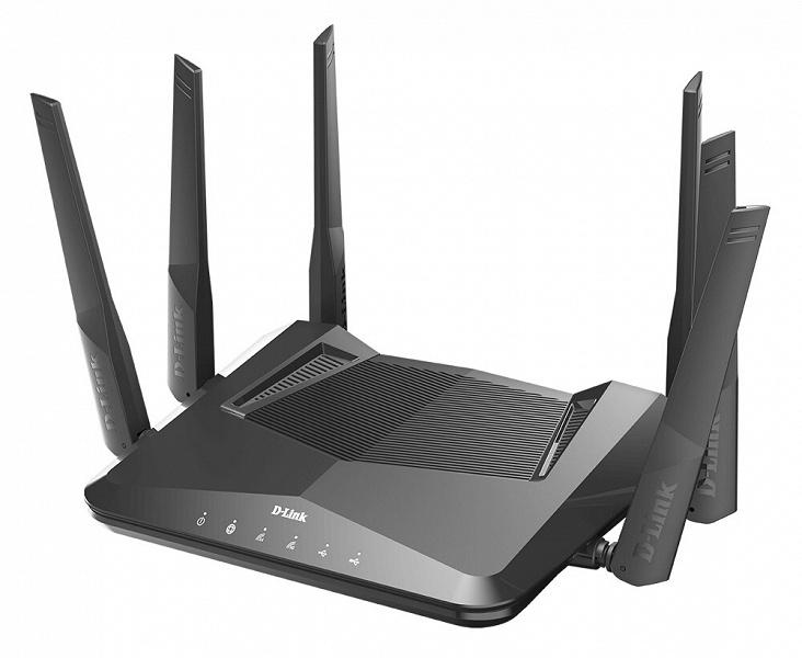 Роутер D-Link EXO AX5400 поддерживает Wi-Fi 6