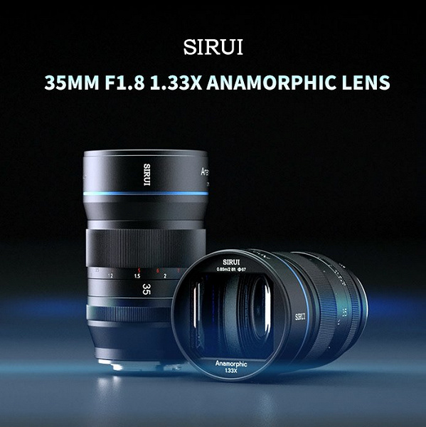 На выпуск анаморфотного объектива Sirui 35mm F1.8 уже собрано уже более 1 млн долларов, хотя сбор средств только начался