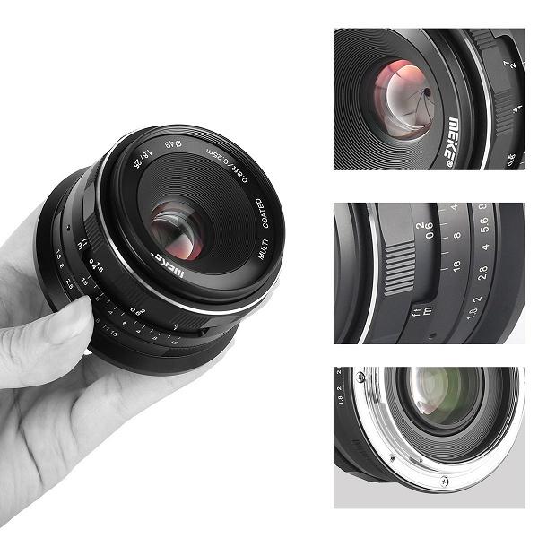 Ассортимент Meike пополнил объектив 25mm F1.8 с креплением Nikon Z