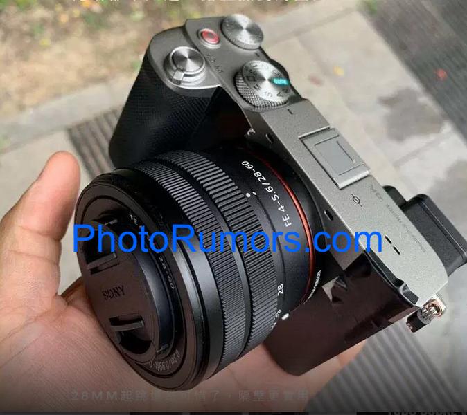 Изображение, цена и характеристики беззеркальной камеры Sony A7C с полнокадровым датчиком