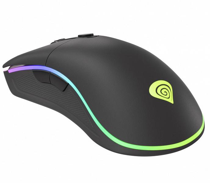 Игровая мышь Genesis Krypton 510 оптимизирована для правшей
