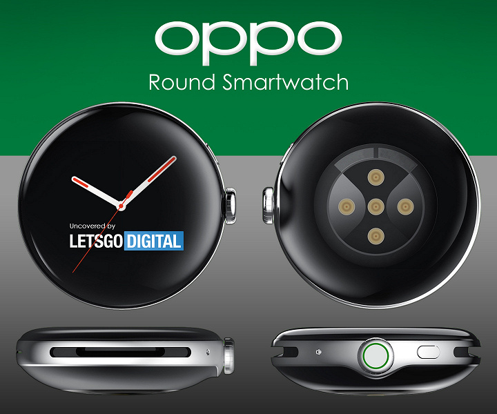 Первые изображения новых Oppo Watch с изогнутым 3D-дисплеем