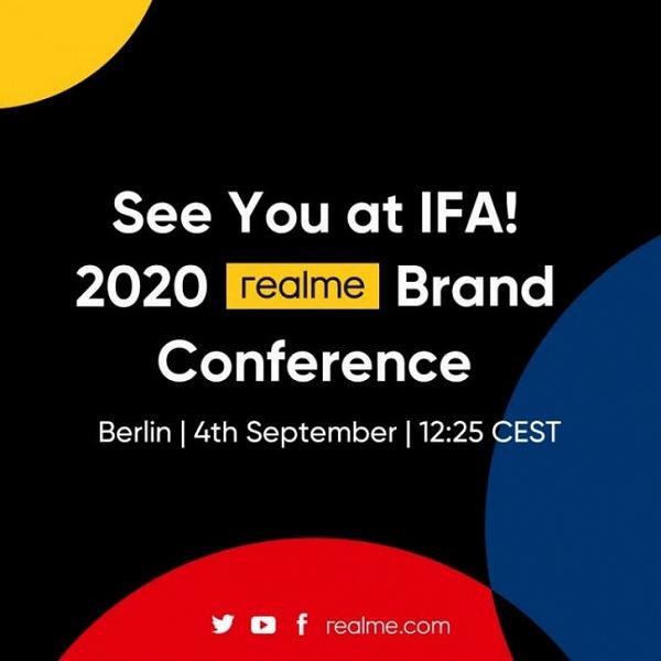 Realme покажет россыпь новинок на первой в своей истории IFA