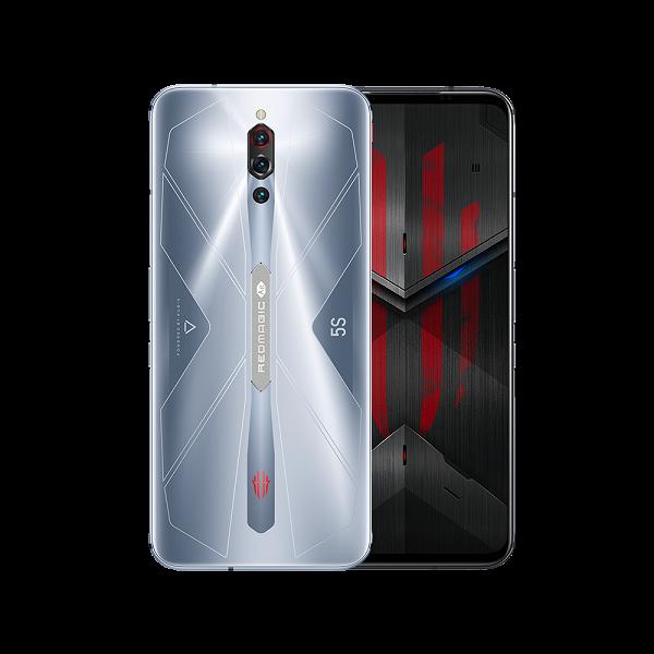 Стартовали международные продажи геймерского смартфона Nubia Red Magic 5S со встроенным вентилятором