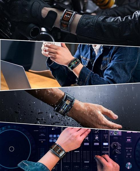 Уникальные часы Nubia Watch с огромным 4-дюймовым экраном выходят на международный рынок