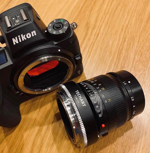 Переходник Techart TZM-01 обеспечивает автоматическую фокусировку объективов Leica M на камерах Nikon Z