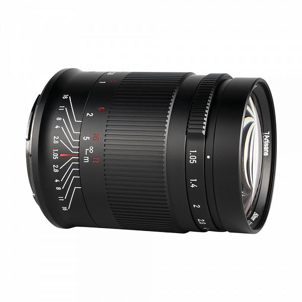 Полнокадровый объектив 7Artisans 50mm f/1.05 для беззеркальных камер оценен в 490 долларов