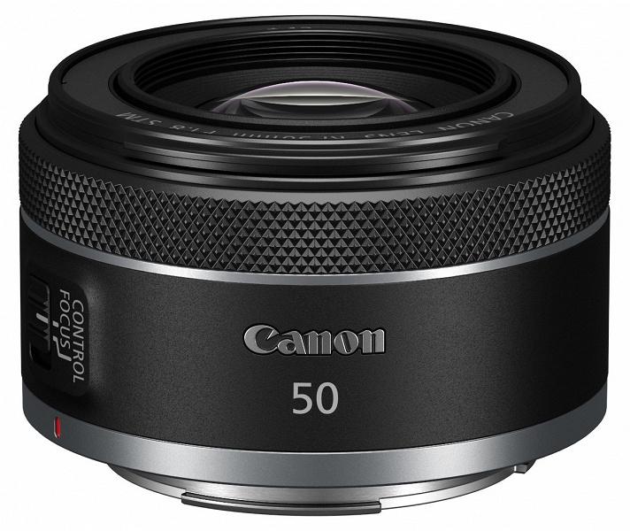 Появилось первое изображение объектива Canon RF 50mm f/1.8 STM