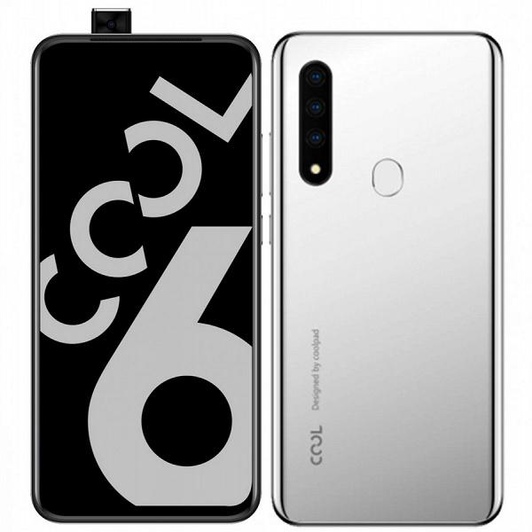 Смартфон Coolpad Cool 6 на однокристальной системе Helio P70 оснащен выдвижной камерой разрешением 21 Мп